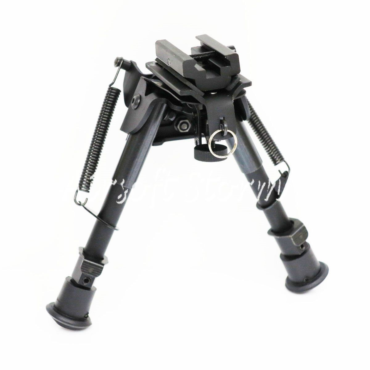 "Shooting Gear 6-9"" Spring Rifle Shooter Bipod w/20mm RIS Rail Adaptor"