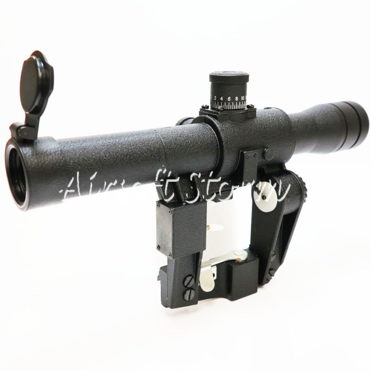 SWAT Gear Tactical 4x26 Red Illuminated Scope For VSS Series Airsoft Rifle SEAF45