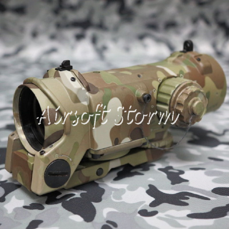 SWAT Gear Tactical 4x Elcan SpecterDR Type Red Green Dot Sight Scope Multi Camo