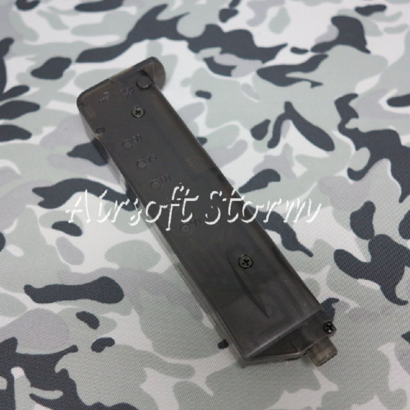2pcs Airsoft AEG Shooting Gear CYMA Pistol Magazine Shape 90rd Speed BB Loader