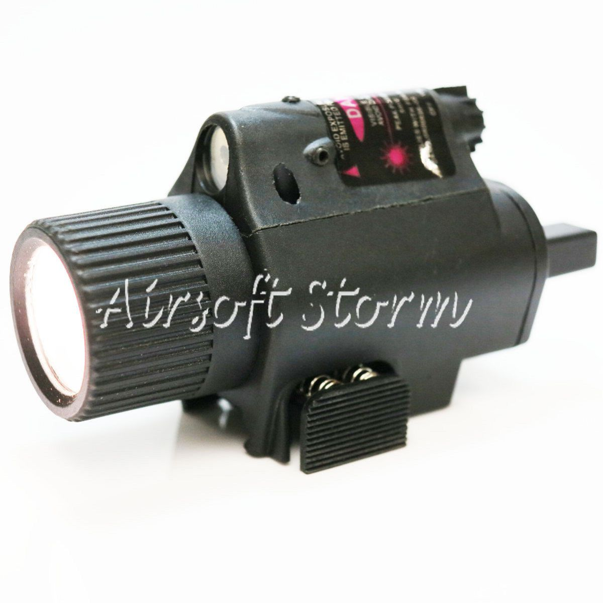 AEG Shooting Gear 2in1 65Lm Xenon Tactical Flashlight & Red Laser