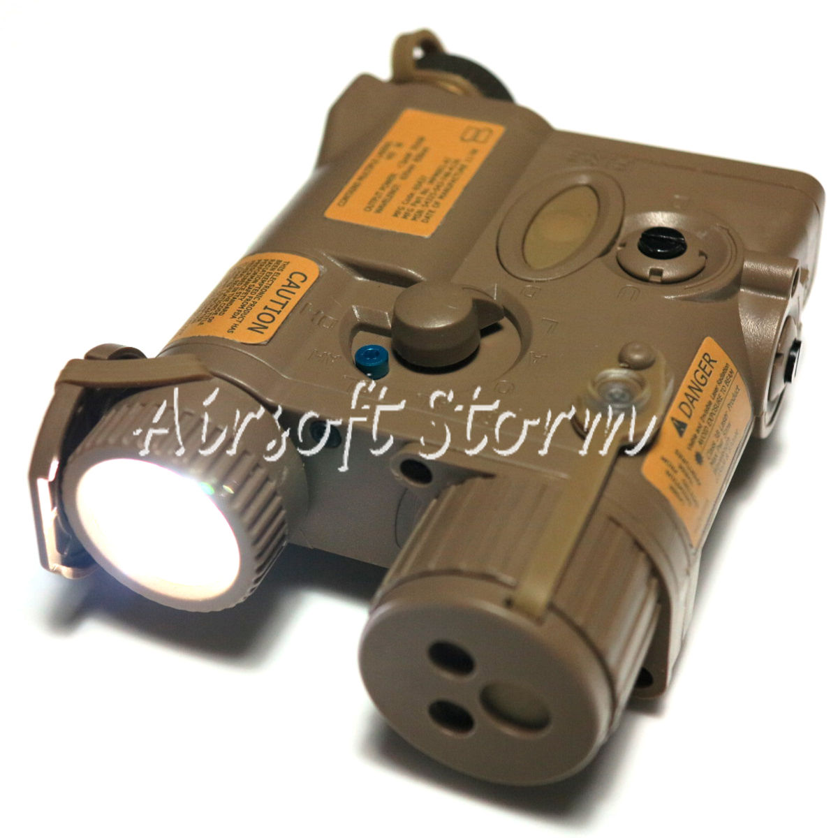 Tactical Gear Element AN/PEQ-16A Pointer Illumunator Aiming Flashlight Dark Earth
