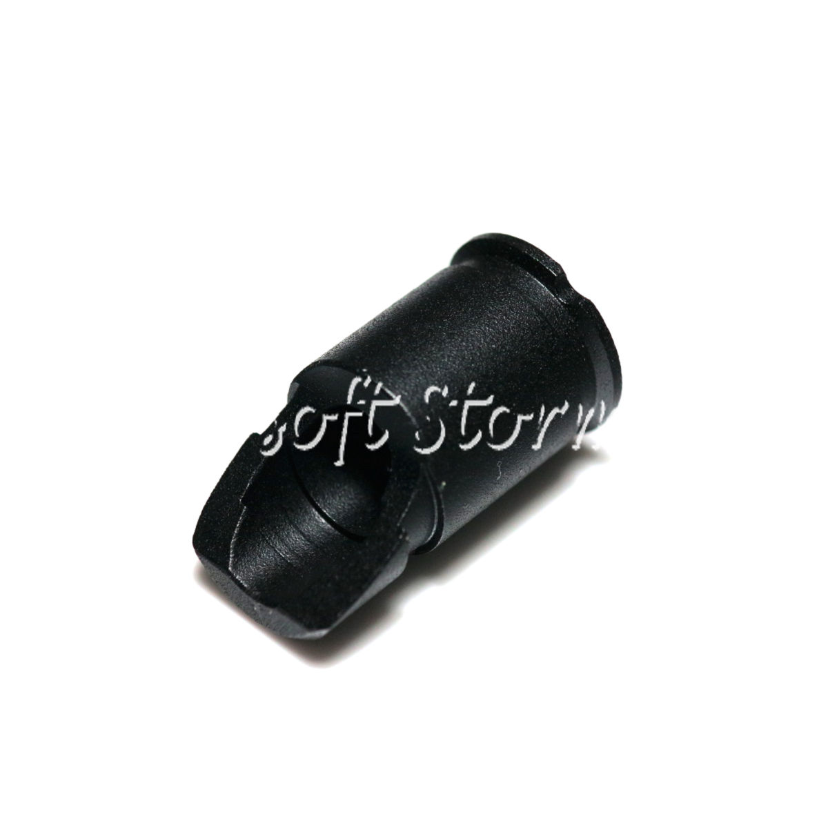 Shooting Gear APS AKM Slant Flash Hider 14mm CCW Black
