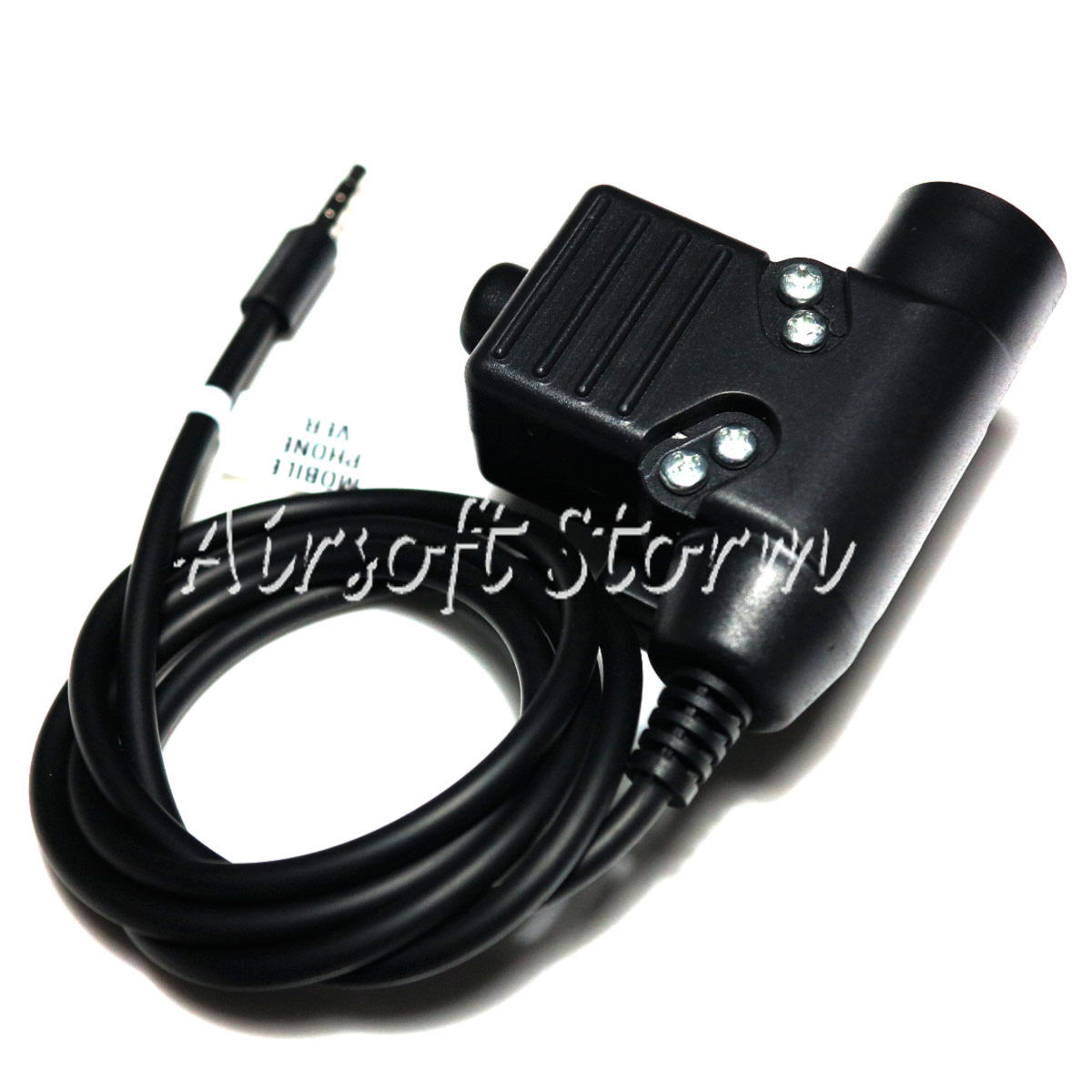 Airsoft SWAT Communications Gear Element U94 Headset PTT for Mobile Phone 3.5mm Version