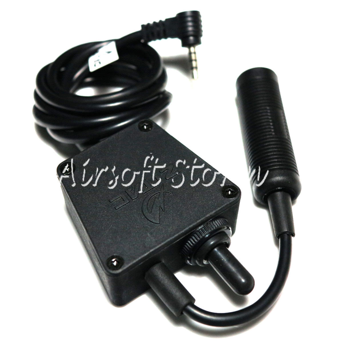Airsoft SWAT Communications Gear Z Tactical E-Switch Headset PTT for Yaesu Radio