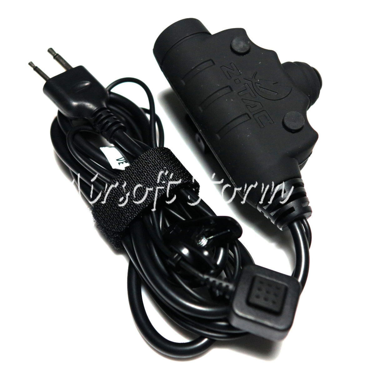 Airsoft SWAT Communications Gear Z Tactical U94 New Version Headset Cable & PTT for ICOM 2 Pin
