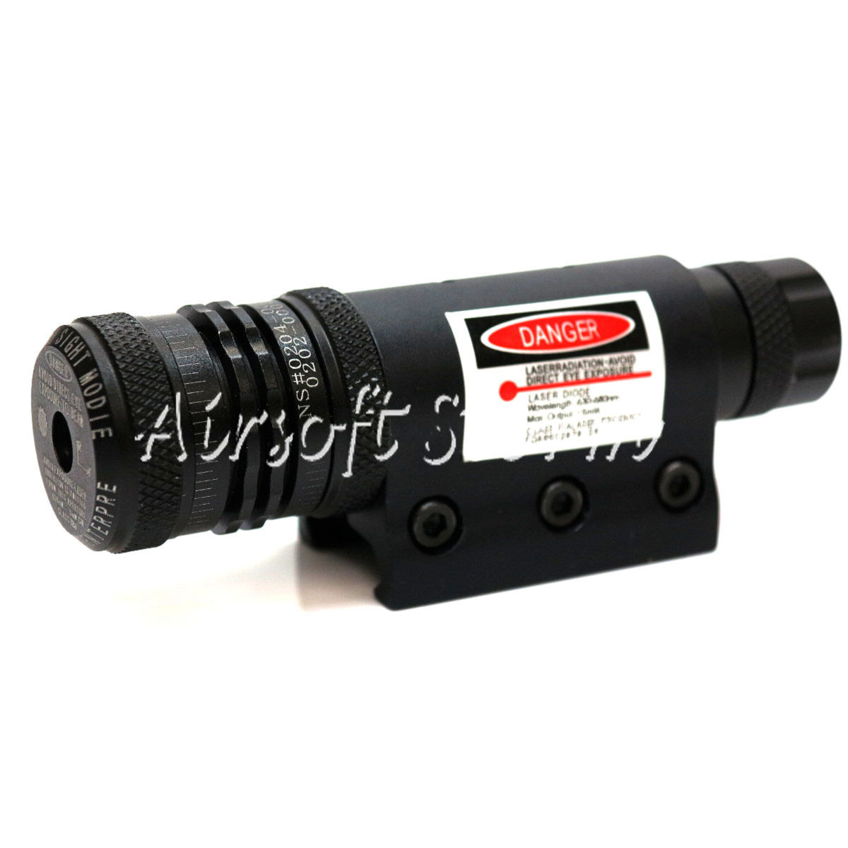 LXGD Tactical Gear Rifle Red Laser Sight Pointer w/ Barrel & RIS Mount JG-10