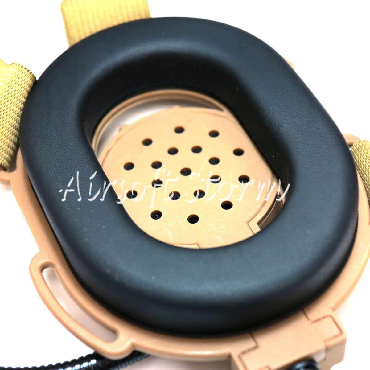 Airsoft Gear SWAT Z Tactical Bowman EVO III Style Headset Desert Tan - Click Image to Close