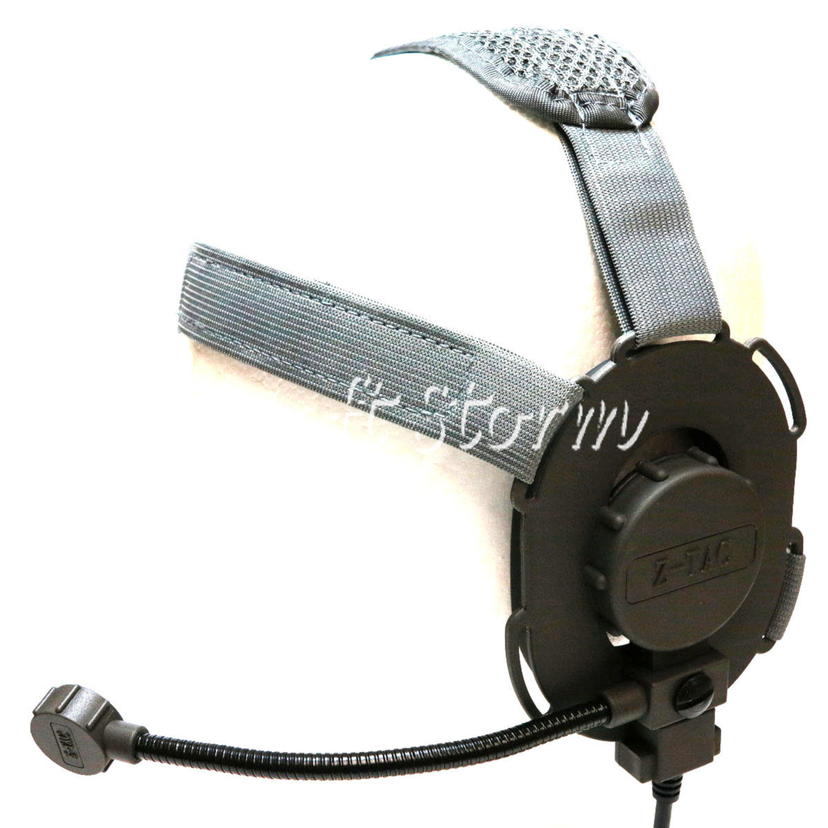 Airsoft Gear SWAT Z Tactical Bowman EVO III Style Headset ACU Gray