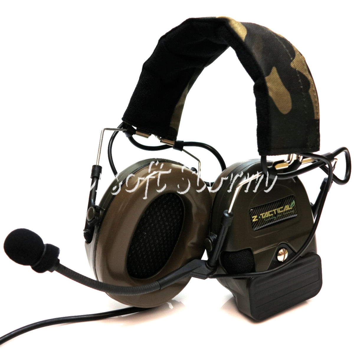 Airsoft Gear SWAT Element Comtac I Style Tactical Headset Olive Drab OD