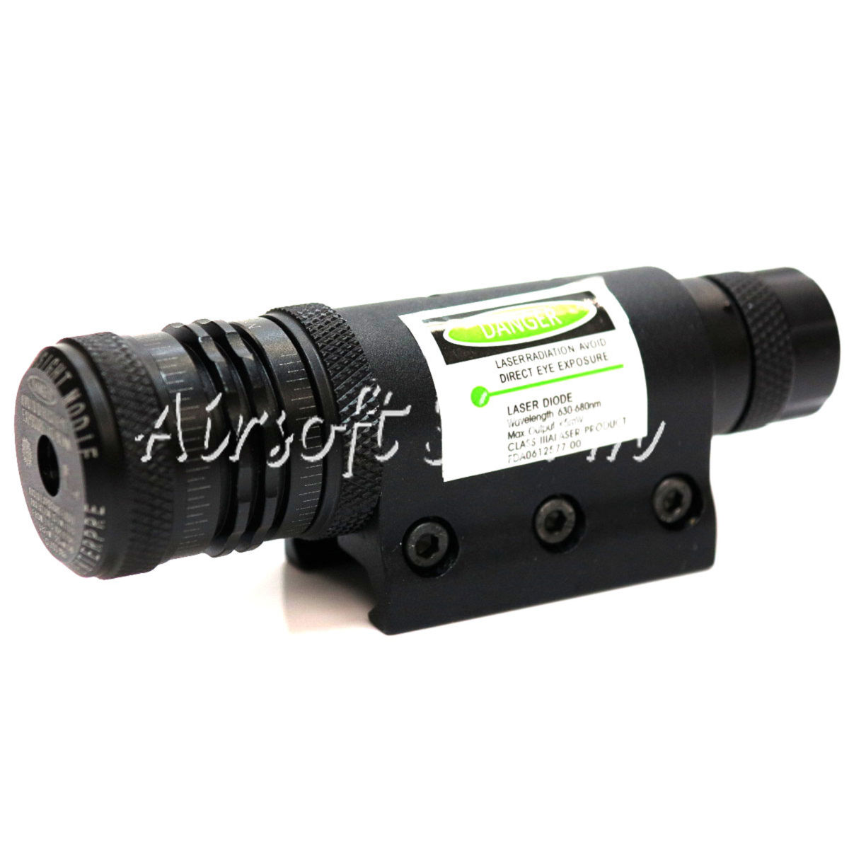 LXGD Tactical Gear Rifle Green Laser Sight Pointer with Barrel & RIS Mount JG-10