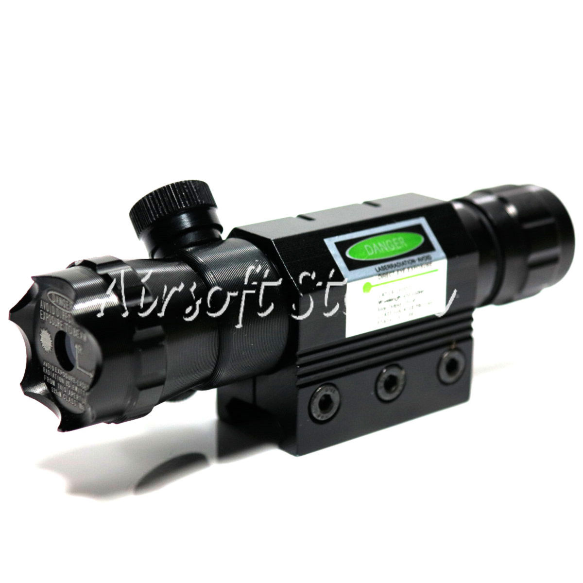 LXGD Tactical Gear Rifle Green Laser Sight Pointer with Barrel & RIS Mount JG-016