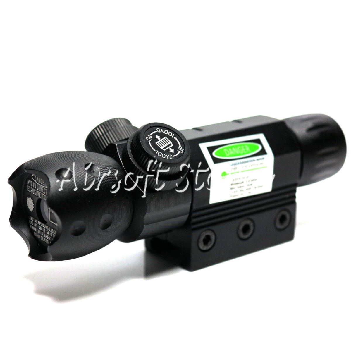 LXGD Tactical Gear Rifle AEG Green Laser Tactical Head Sight Pointer JG-020