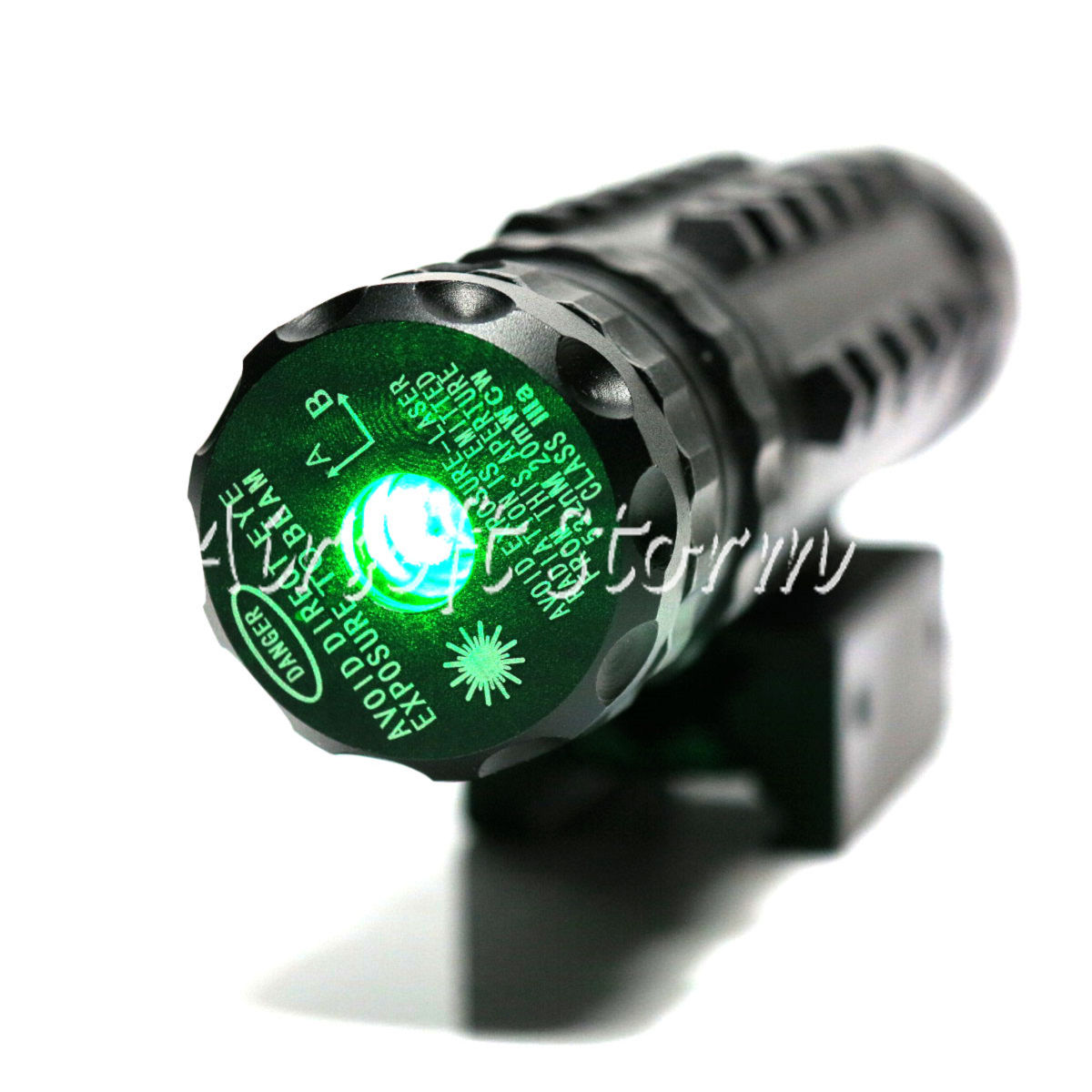 LXGD Tactical Gear High Power Tri-Rail Green Laser Sight Pointer JG-027 - Click Image to Close