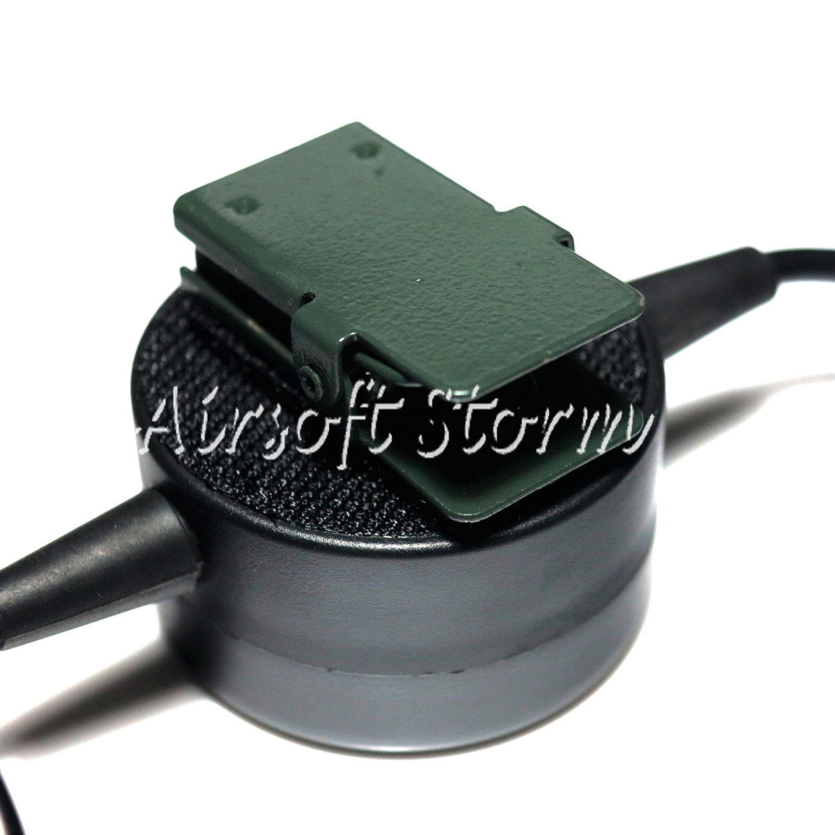 Airsoft Gear SWAT Element TCI Headset PTT for Midland 2 Pin Radio - Click Image to Close