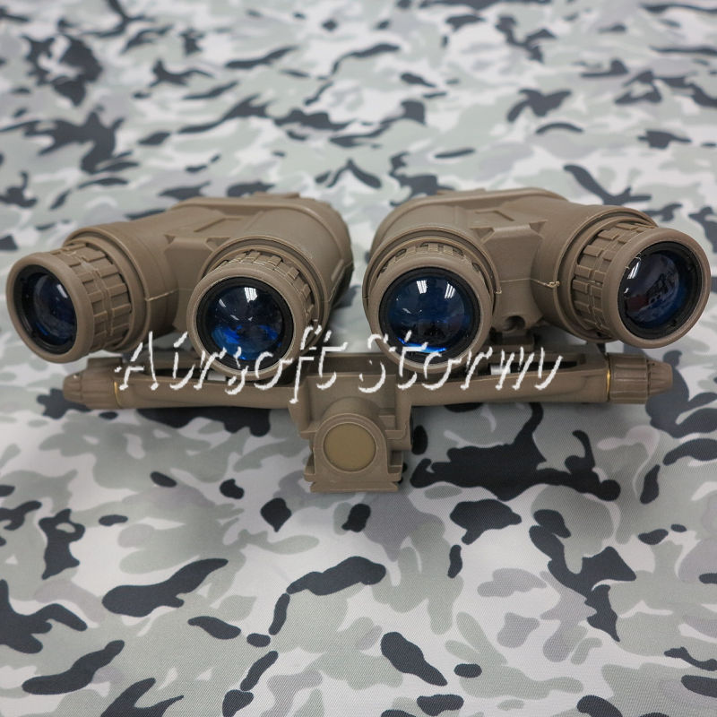 Airsoft Tactical Gear FMA GPNVG-18 Dummy Model Kit NVG Night Vision Goggle Dark Earth
