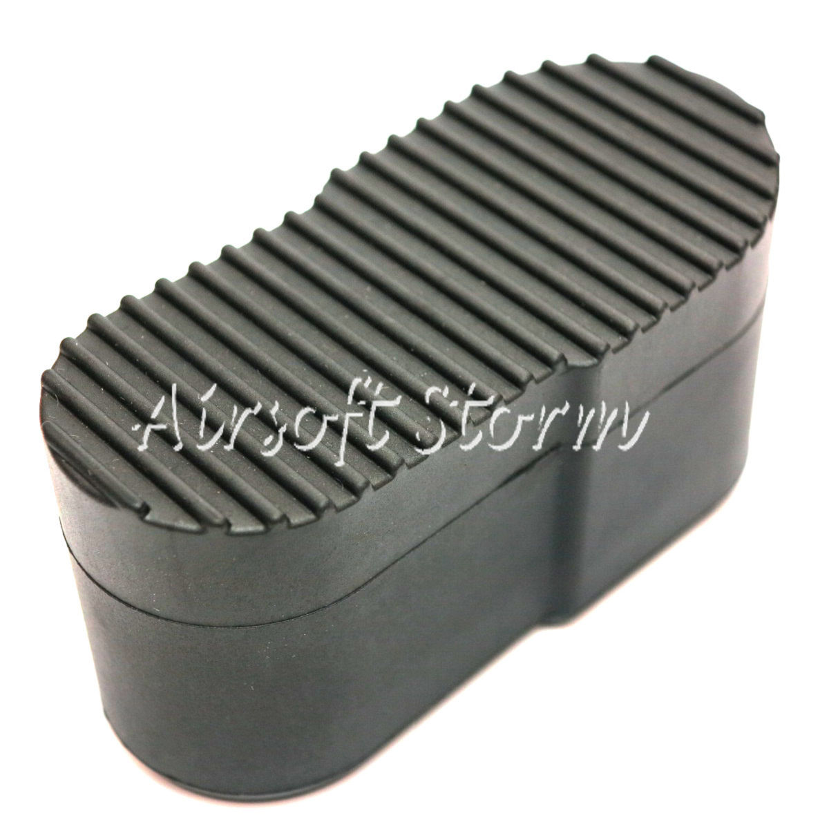 Airsoft AEG Wargame Shooting Gear Rubber PVC Stock Butt Plate For P90