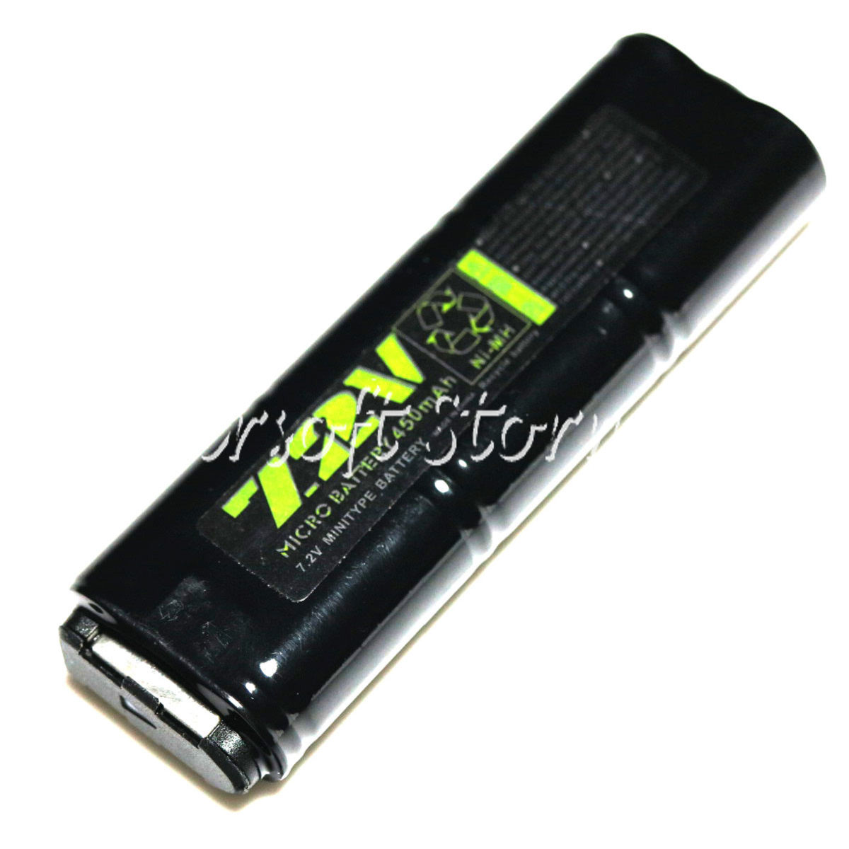 WELL 7.2V 450mAh Ni-MH Battery for Vz61/MP7/MAC10/R2/R4 AEG