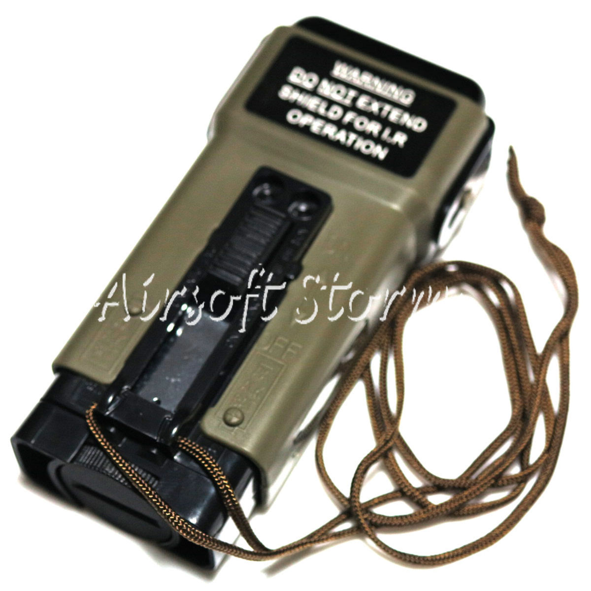 Airsoft AEG Shooting Gear G&P Military Distress Marker Light Type BB Loader 130rd GP267 Olive Drab OD