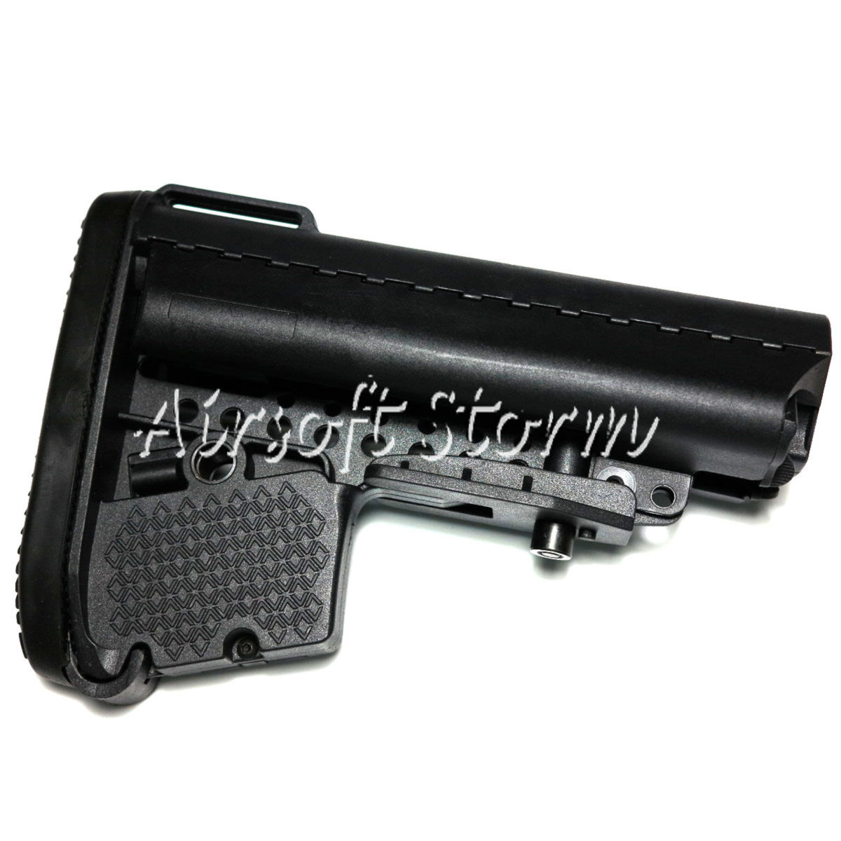 Airsoft Tactical Gear D-Boys VLTOR Style MOD Crane Stock with Rear Storage Compartment for M14 M16 AEG