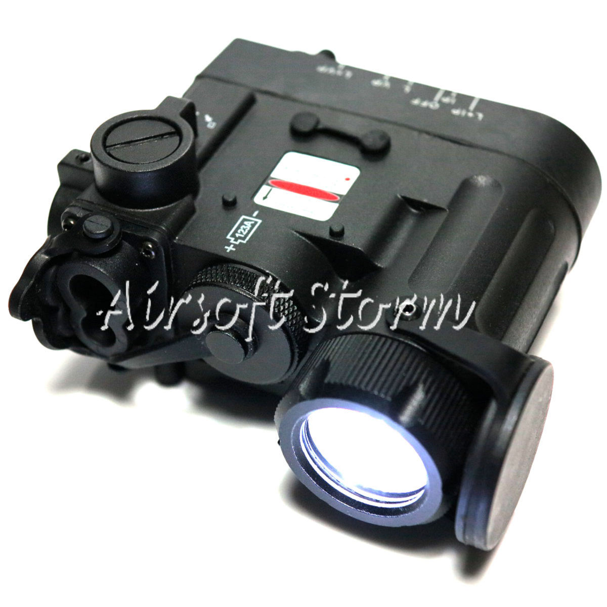 Element DBAL eMK II I-Red Flashlight and Aiming Laser Black Body EX328