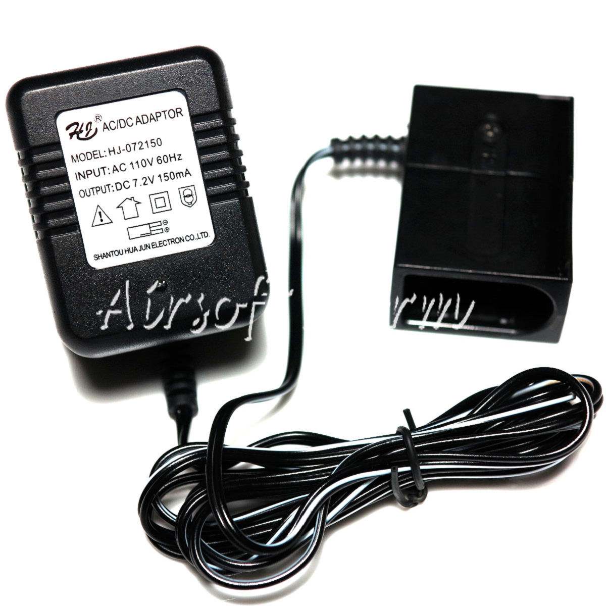 WELL 7.2V Micro Mini Battery Charger for R4 MP7/Marui G18 (110V)