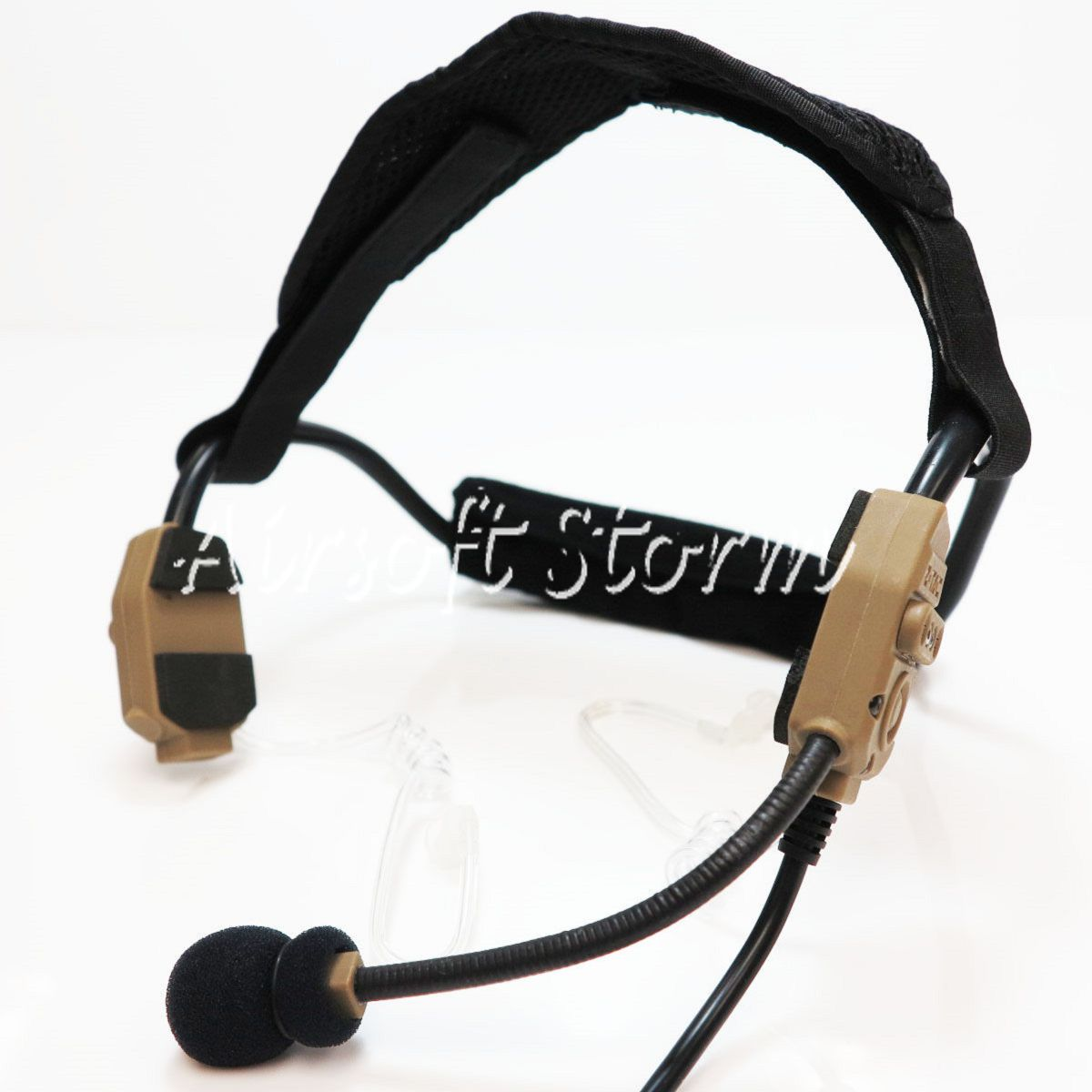 Airsoft Gear SWAT Z Tactical THREAT4 X-62000 Headset Dark Earth/Black