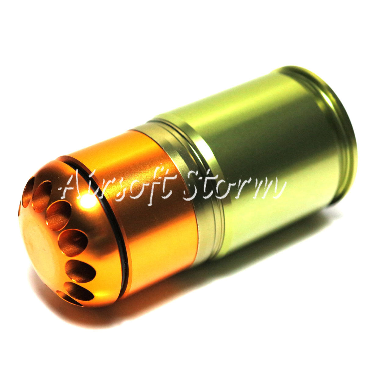 Shooting Gear Army Force 72rd 40mm Grenade CO2 Cartridge Shell Green