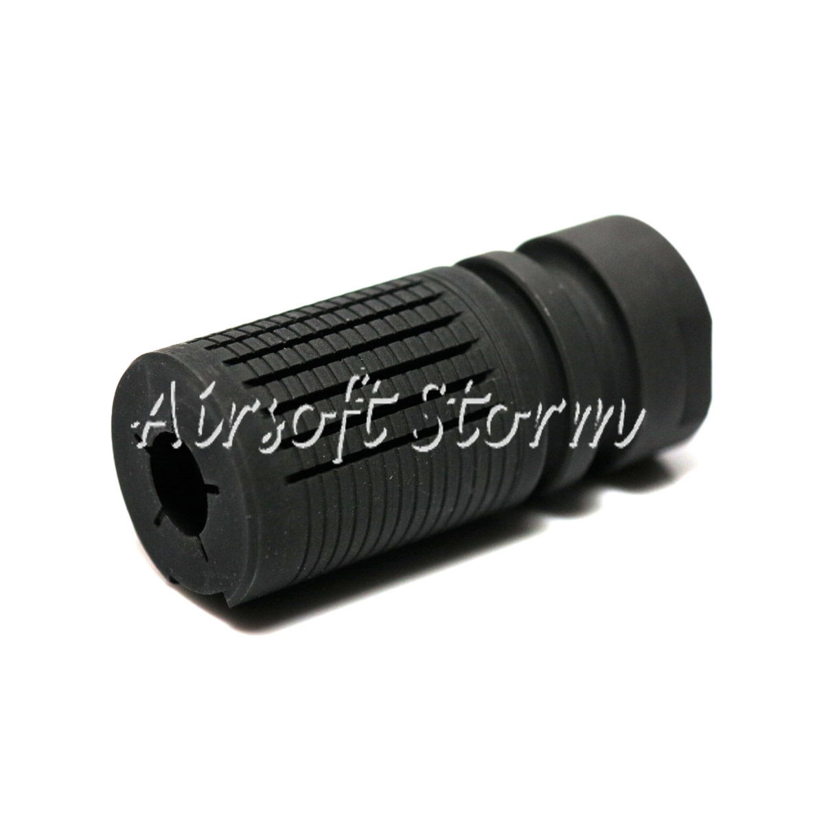 Shooting Gear Army Force PDW Type Steel Flash Hider 14mm CCW Black