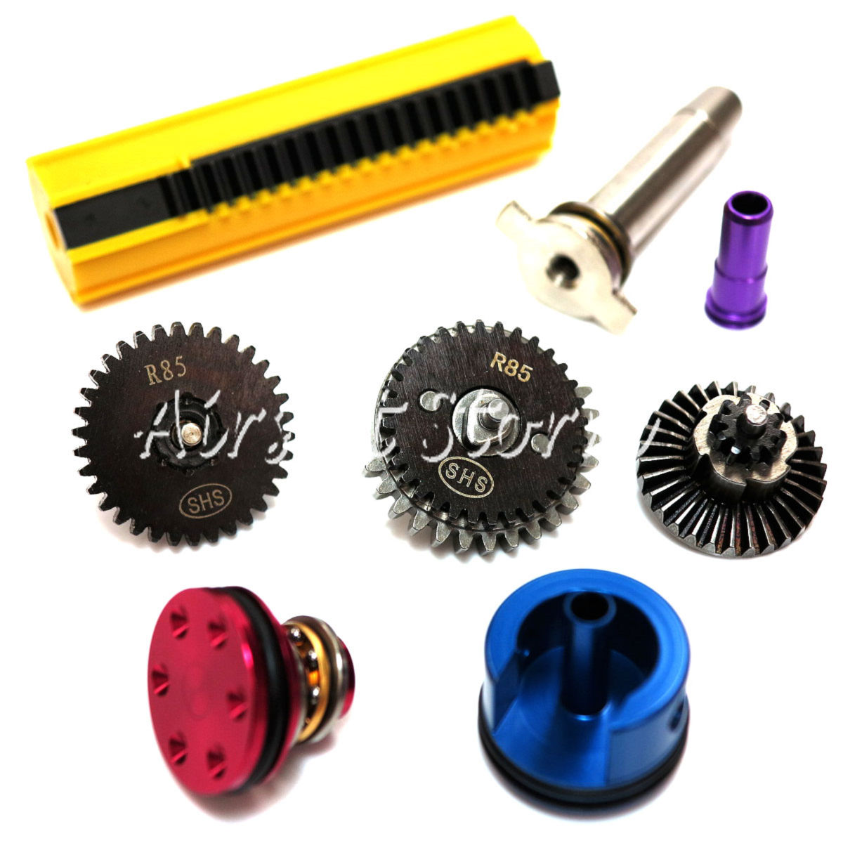 Shooting Gear SHS R85 High Speed Gear Tune-Up Set (15 Full Piston Yellow)