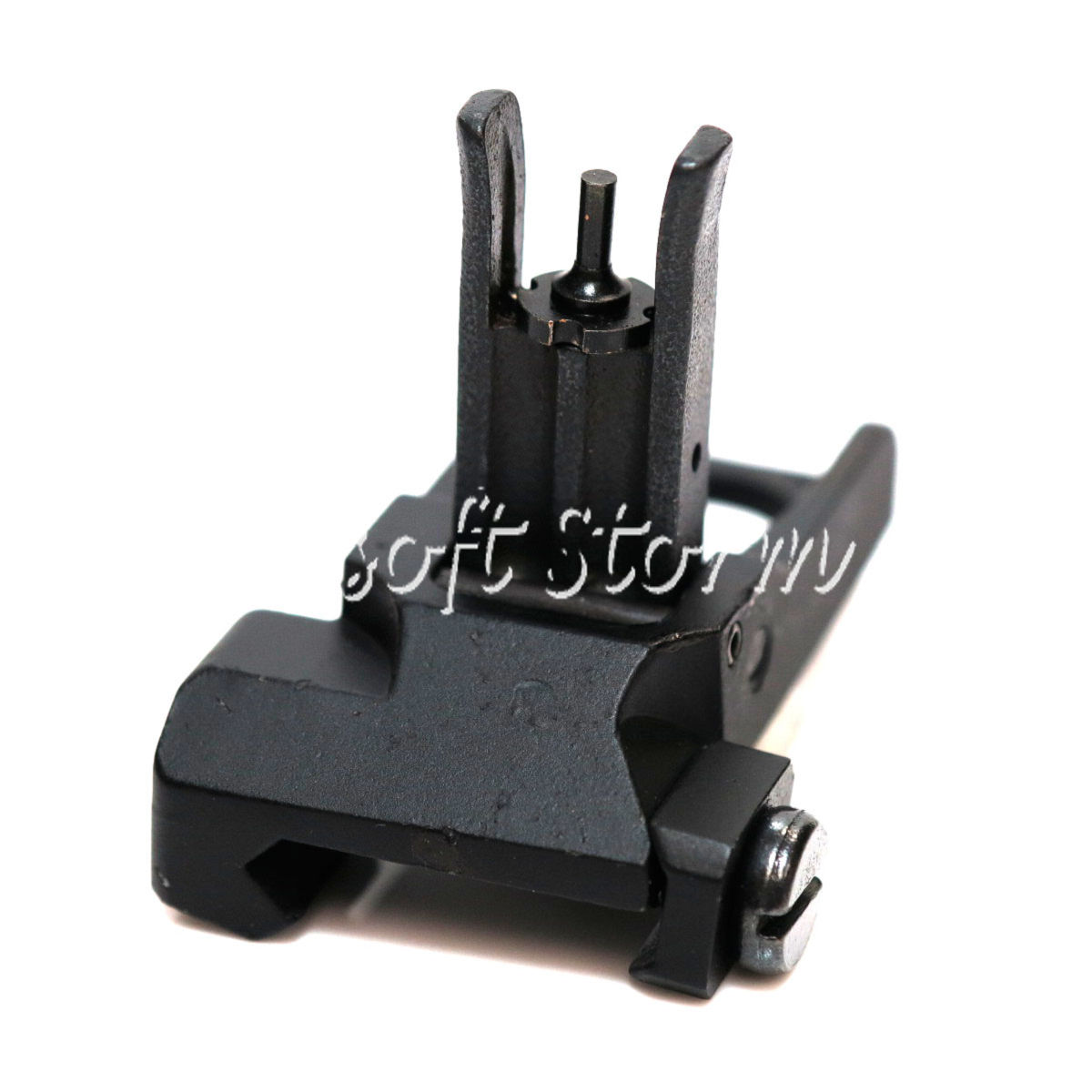 Airsoft AEG Gear D-Boys PDW 300M Flip Up Front Sight Black