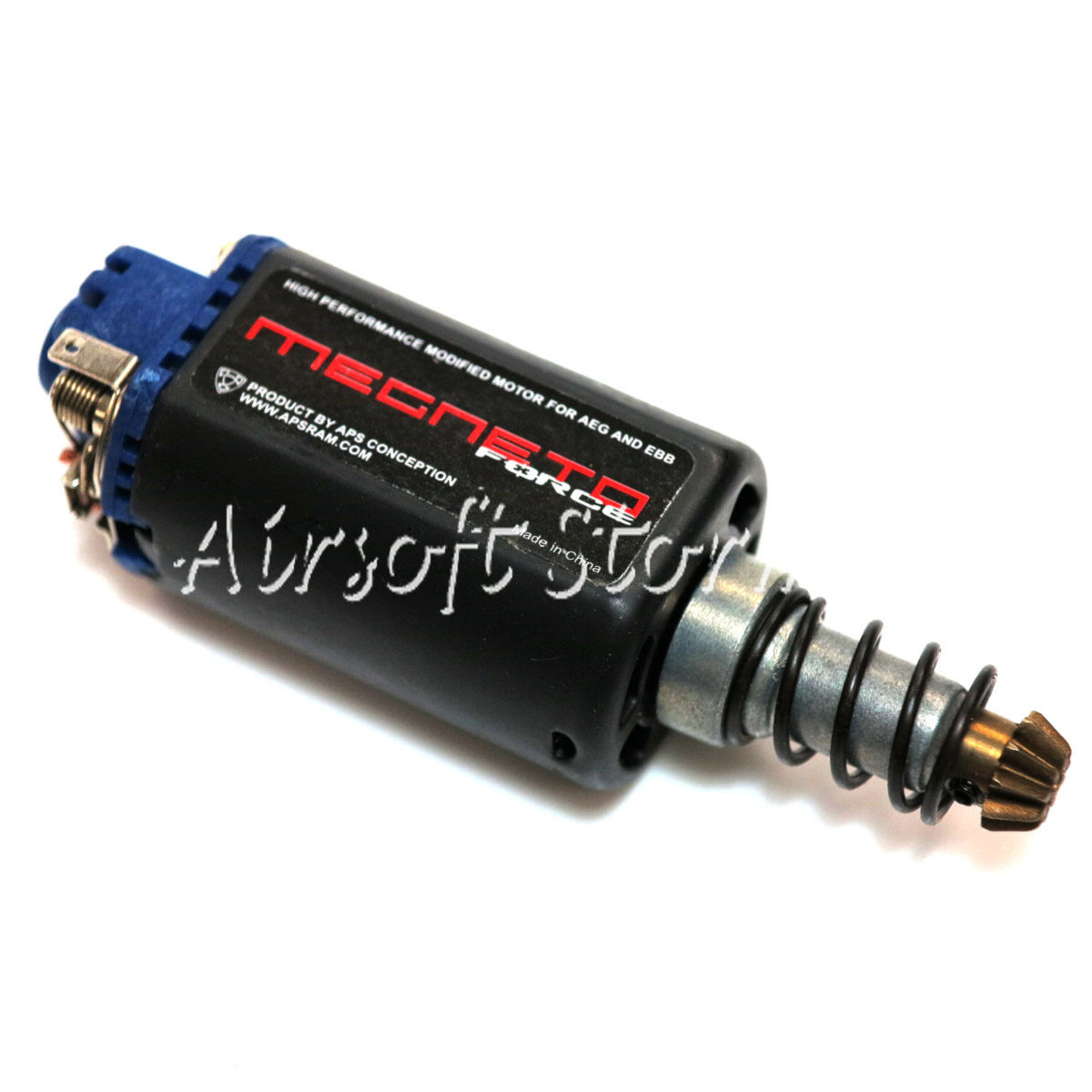 Airsoft Tactical Gear APS AER030 Magneto Force AEG Motor (Long)