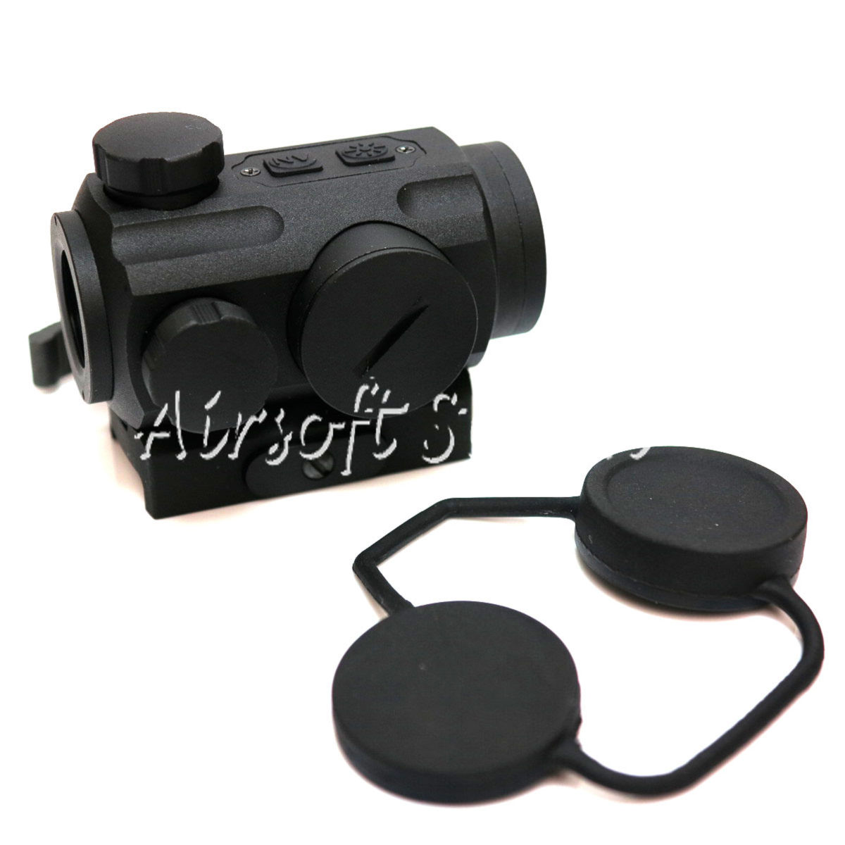 SWAT Gear Tactical 1x20 Micro T-1 Red Green Dot Sight Scope with QD Low Mount - Click Image to Close