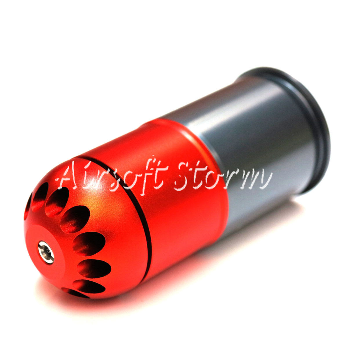 Shooting Gear SHS 96rd 40mm Grenade Gas Cartridge Shell Red/Grey