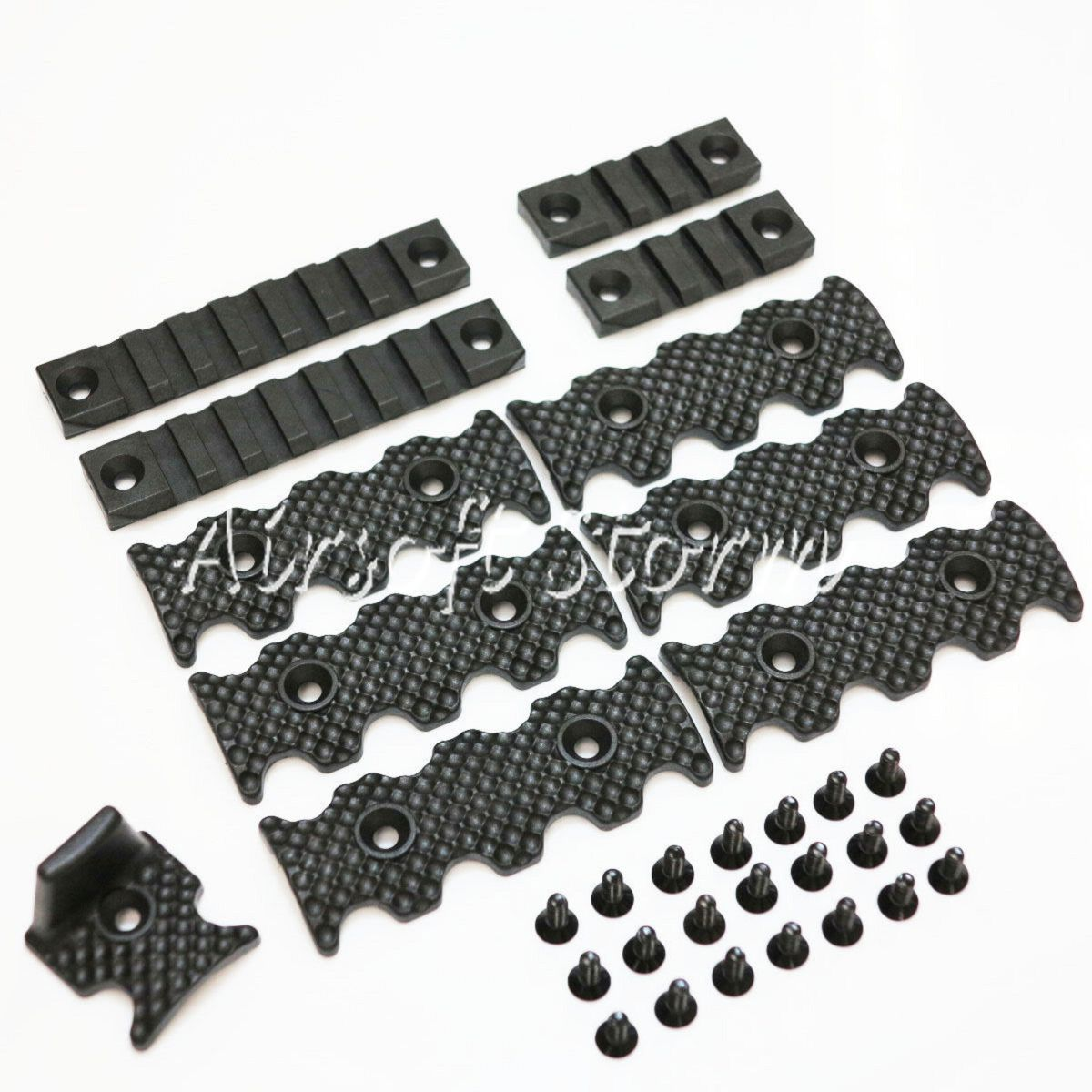 Shooting Gear PTS Centurion Arms CMR Rail Accessory Pack Set Black