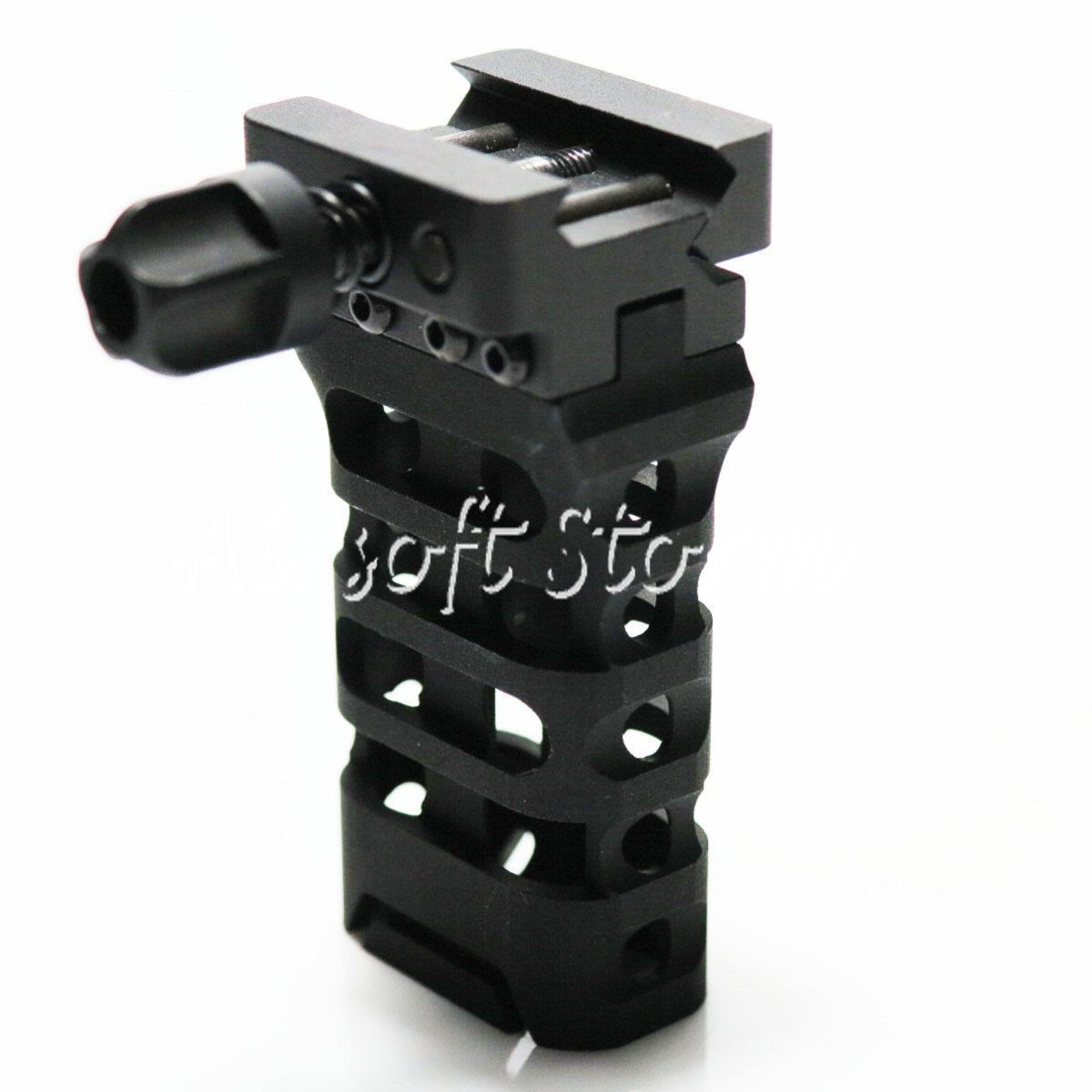 Airsoft Tactical Gear 5KU Quick Detach QD Ultralight Vertical Grip Black