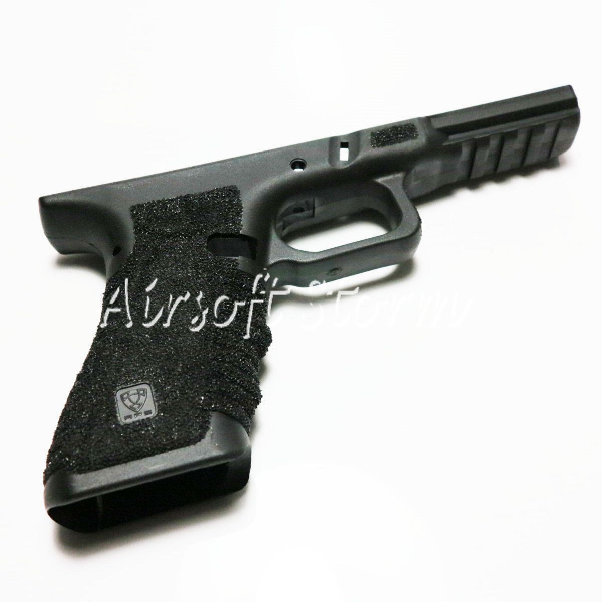 AEG Gear APS AC008S ACP601 GBB Polymer Fiber Body Lower Frame Stipple Black