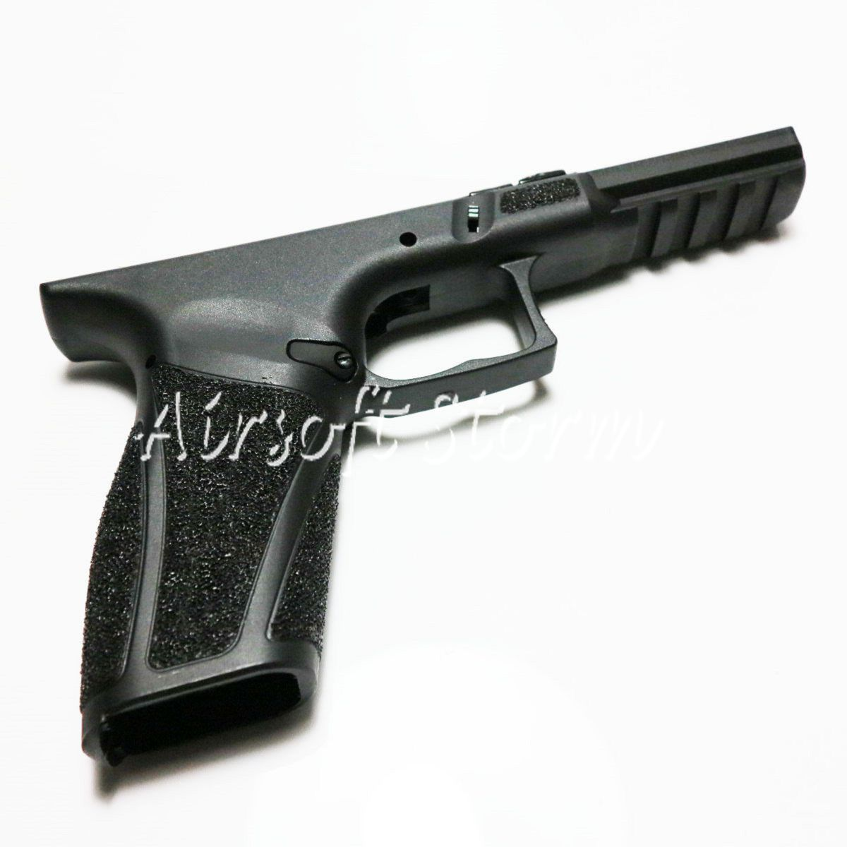 AEG Gear APS AC024S GBB Polymer Fiber Body Lower Frame Stippling For ACP A CAP Pistol Black