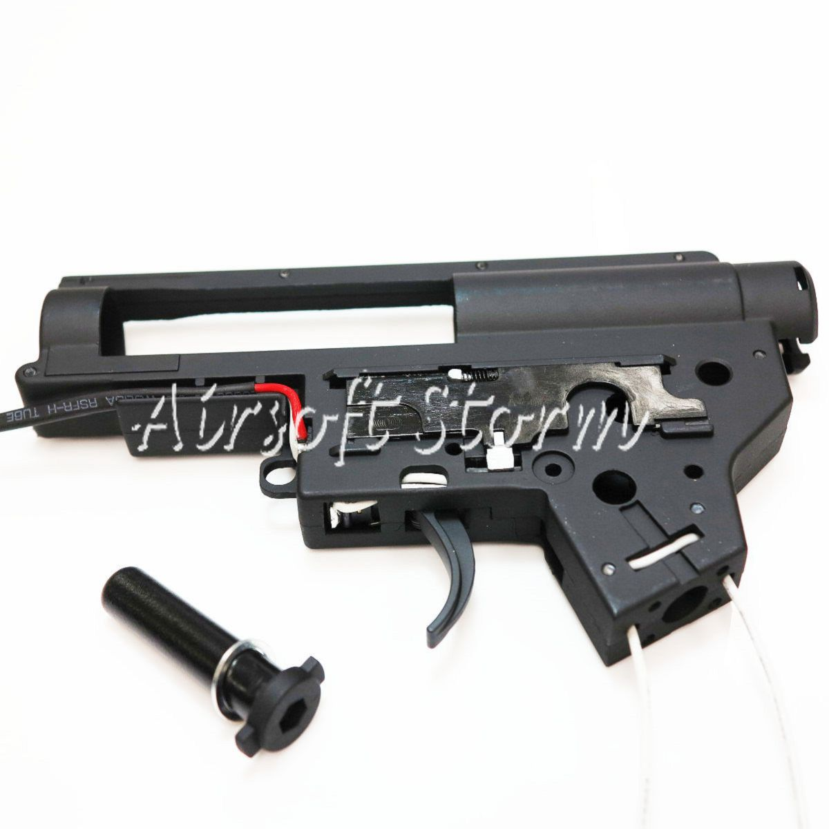 Shooting Gear Army Force 8mm Version 2 QD Gearbox Shell Black for JG M-Series AEG Front Line