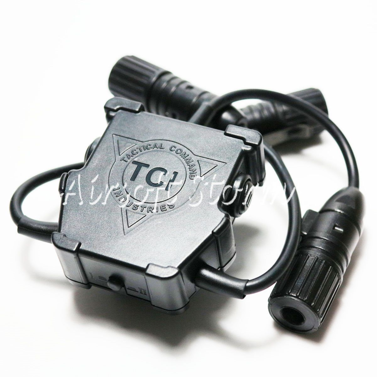 Airsoft Gear SWAT Z-Tactical R3U Dual Headset Cable & PTT