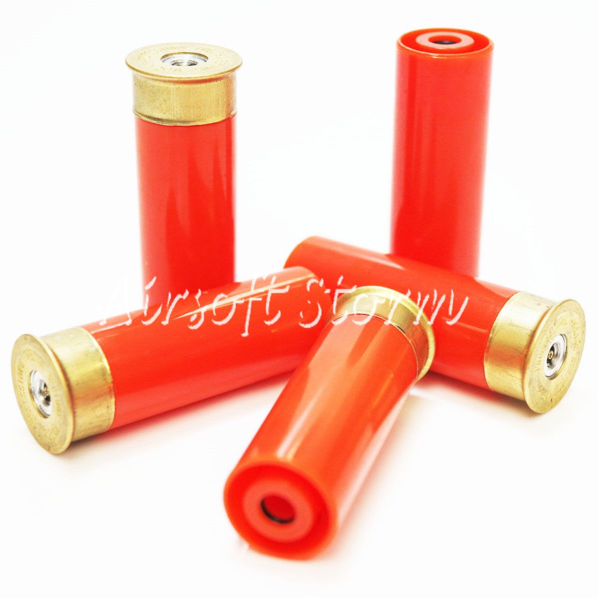 Shooting Gear PPS 5pcs PPS Gas Shell for M870 Pump Action Shotgun AEG Orange