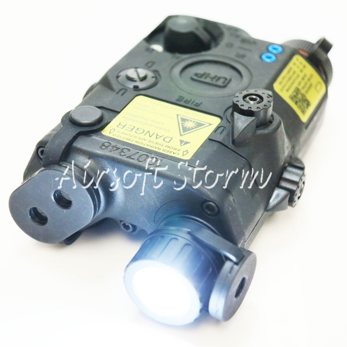 Airsoft Tactical Gear FMA AN/PEQ LA5-C Upgrade Version LED White Light + Red/IR Laser Black