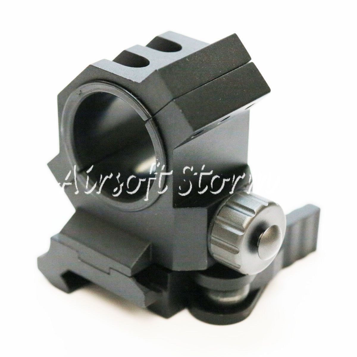 Shooting Sight Gear 25mm/30mm Scope Red Dot Sight QD Lever Mount Black
