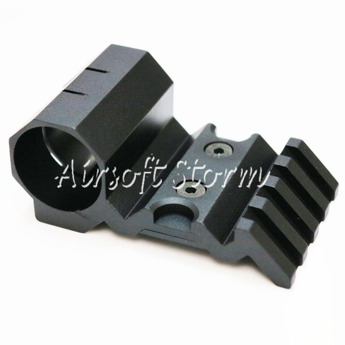 "Shooting Gear Army Force Offset 20mm Rail Mount & 1""/25mm Flashlight Mount"