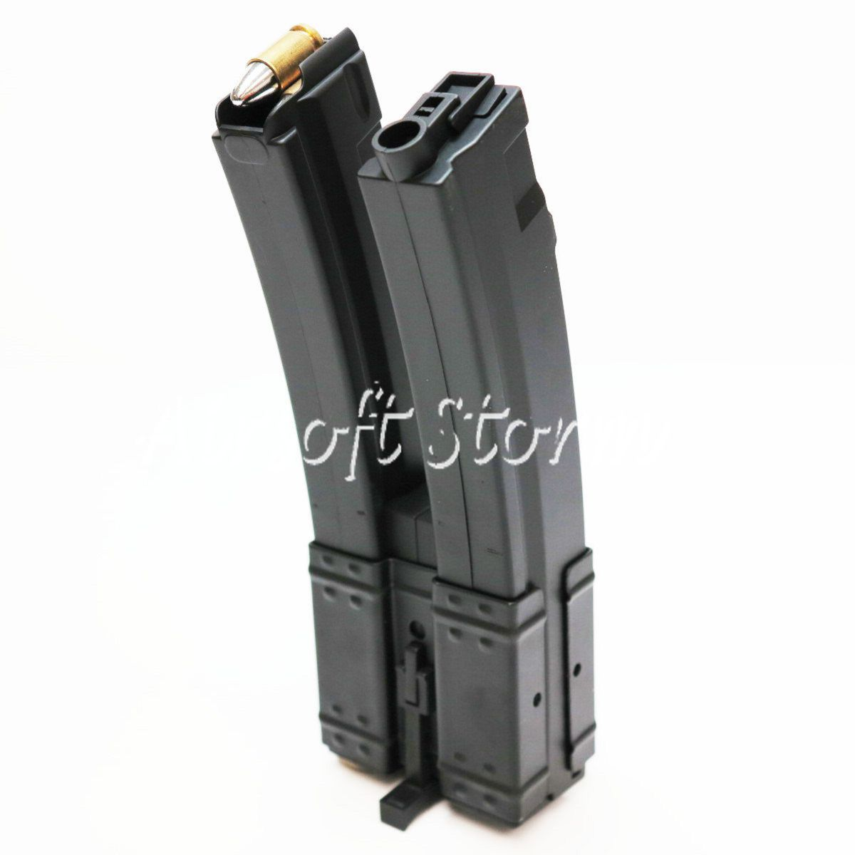 Shooting Gear CYMA 3pcs 560rd Hi-Cap Long Dual Magazine for MP5 Series AEG