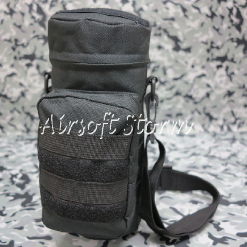 Airsoft SWAT Tactical Molle Water Bottle Utility Medic Pouch Black