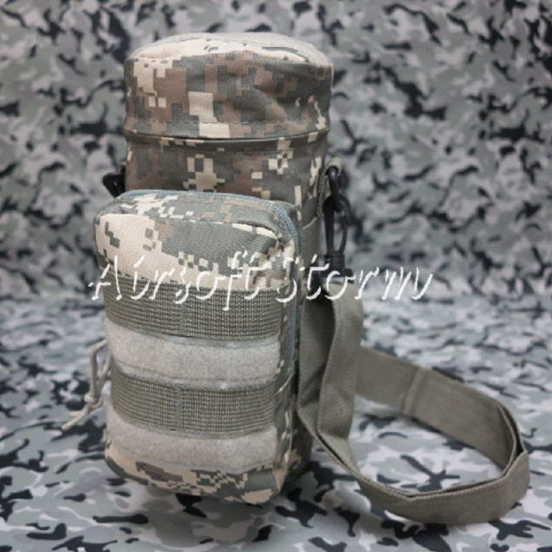 Airsoft SWAT Tactical Molle Water Bottle Utility Medic Pouch ACU Digital Camo