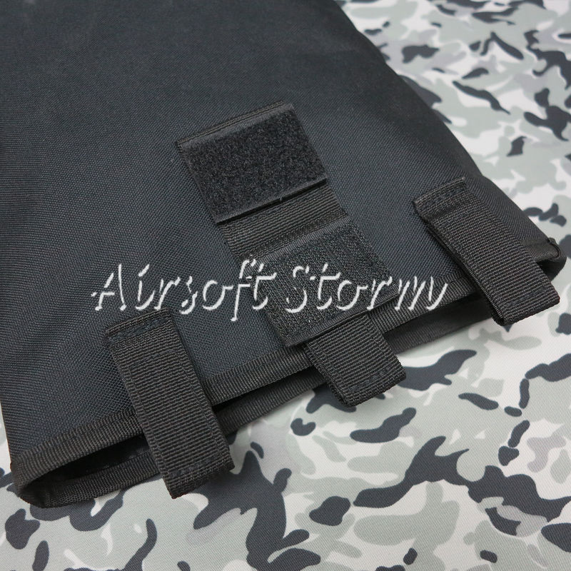 Airsoft Tactical Gear Molle Large Magazine Tool Drop Pouch Bag Black - Click Image to Close