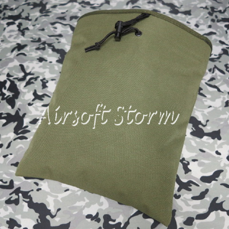 Airsoft Tactical Gear Molle Large Magazine Tool Drop Pouch Bag Olive Drab OD