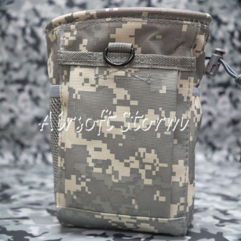 Airsoft Tactical Gear Molle Small Magazine Tool Drop Pouch Bag ACU Digital Camo